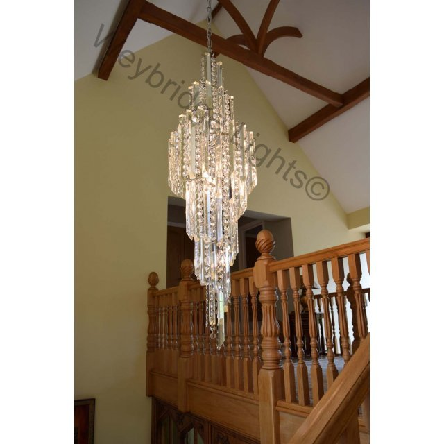 007 Crystal Stairwell Light