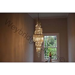 007 Crystal Stairwell Light