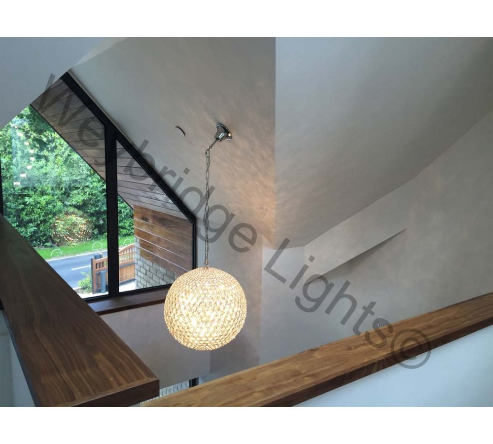 Lights Supplied to a new build - Wentworth, Surrey