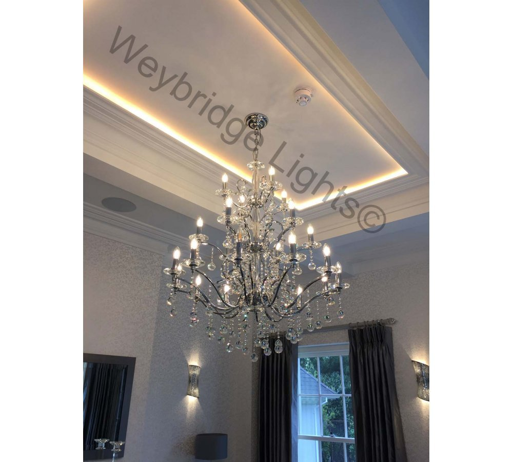 Lighting for a Private Residence - Weybridge, Surrey