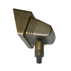 Bronze Floodlight Fitting - Aged Bronze