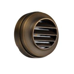 Bronze Round Mini Wall Light - Aged Bronze