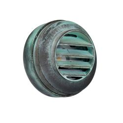 Bronze Round Mini Wall Light - Verdigris