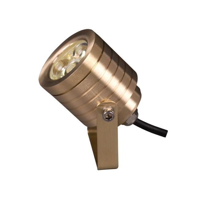 Elite Spotlight Wall Fitting - Natural Brass