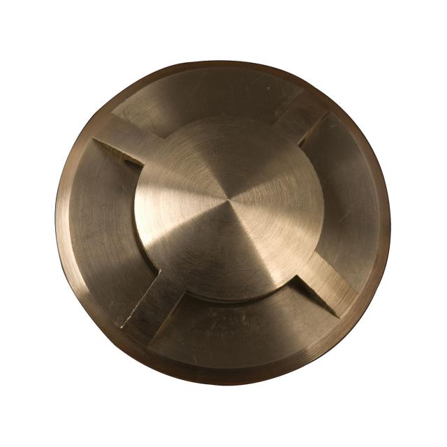 Fusion 4 Direction Ring In-Ground Light - Brass
