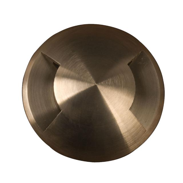Fusion 2 Direction Ring In-Ground Light - Brass
