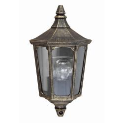Cricklade 1 Light Half Lantern