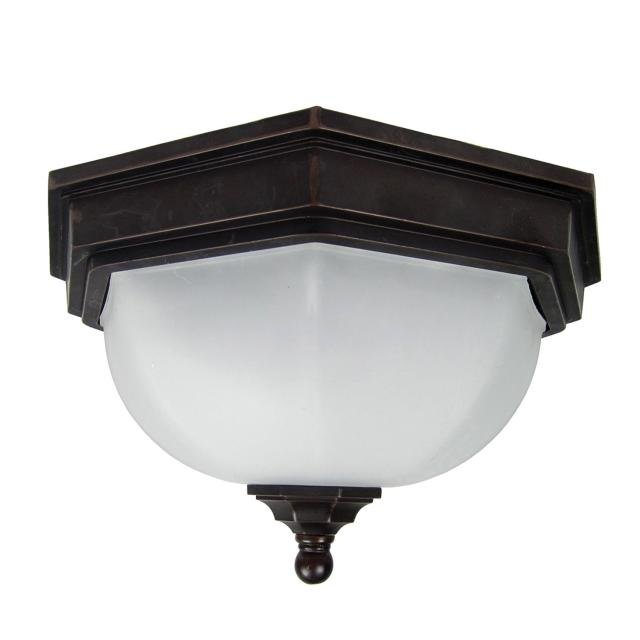 Fairford 1 Light Flush Lantern