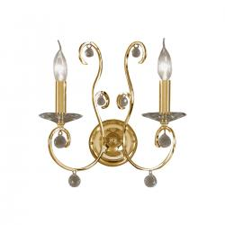 Wall Lamp CARAT, 32 PURE KOLARZ, 24-carat gold