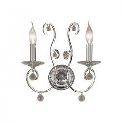 Wall Lamp CARAT, 32 PURE KOLARZ, chrome, (shades optional)