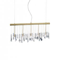Pendant Lamp STRETTA, 83 OPTIC KOLARZ, 24-carat gold