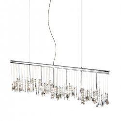 Pendant Lamp STRETTA, 120 OPTIC KOLARZ, chrome