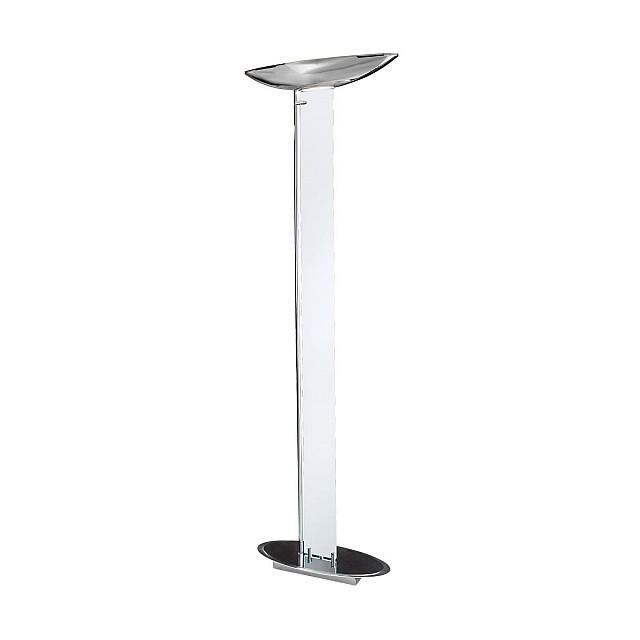 Floor Lamp DELPHI LED Clear, chrome