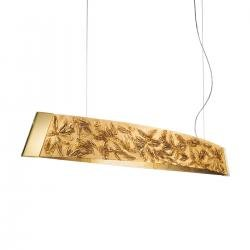 Pendant Lamp BARCA, 130 Decor Liberta gold, 24-carat gold, gold-plated, hand-painted