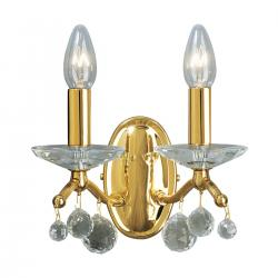 Wall Lamp CARMEN 2 OPTIC KOLARZ, 24-carat gold