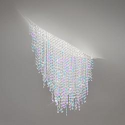 Ceiling Lamp FONTE DI LUCE, 120 White, OPTIC KOLARZ clear/violet