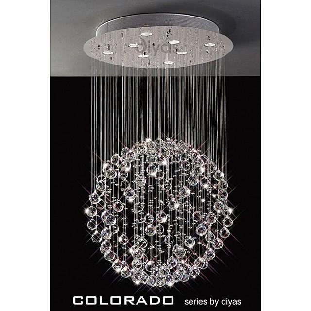 Colorado Medium Crystal Round Ball