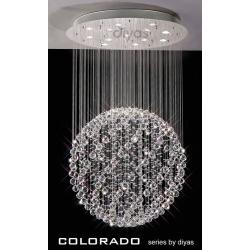 Colorado Large Crystal Round Ball