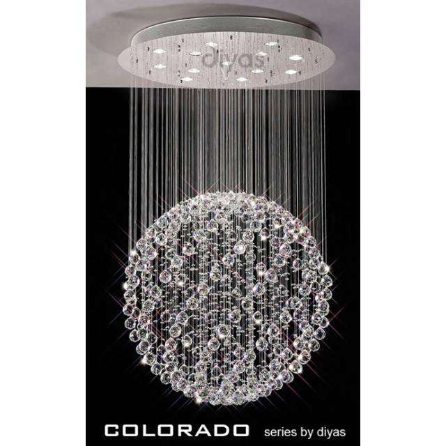 Colorado Large Crystal Round Ball