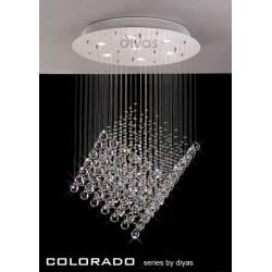 Colorado Shaped Crystal Pendant